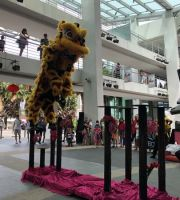 Lion Dance On Stilts: 16.2.2019